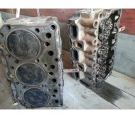Головки блока цилиндров на RENAULT magnum  ЕВРО 2
